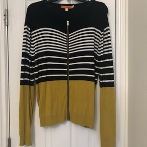 One A Zip Cardigan